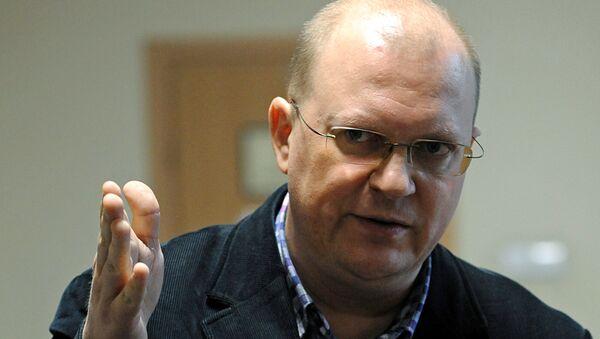 Leonid Svirídov, corresponsal de la agencia Rossiya Segodnya en Varsovia - Sputnik Mundo