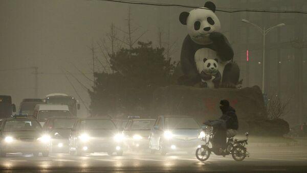 Contaminación en Pekín - Sputnik Mundo