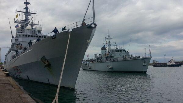 Buques de la OTAN en el mar Negro - Sputnik Mundo