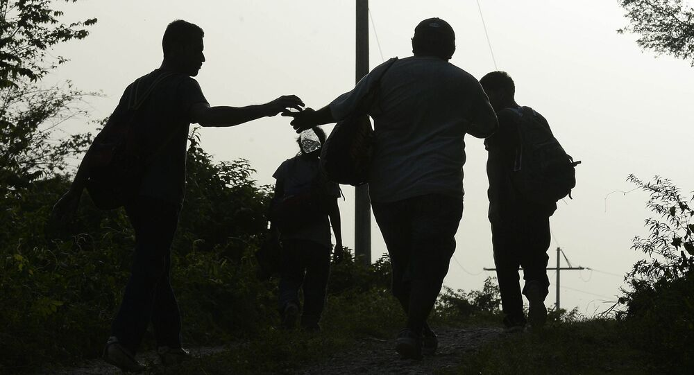 Migrantes mexicanos (archivo)