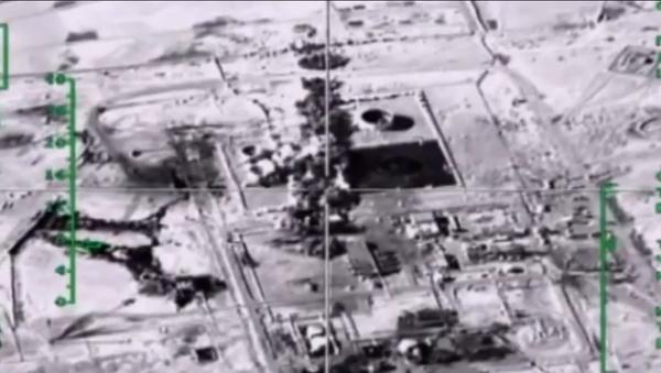 Los ataques aéreos rusos contra los terroristas en Siria - Sputnik Mundo