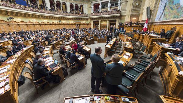 Elecciones en el Legislativo de Suiza - Sputnik Mundo