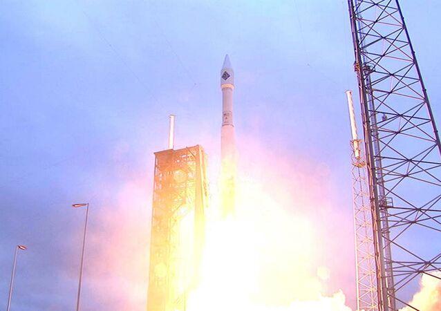 Lanzamiento de la nave de carga Cygnus