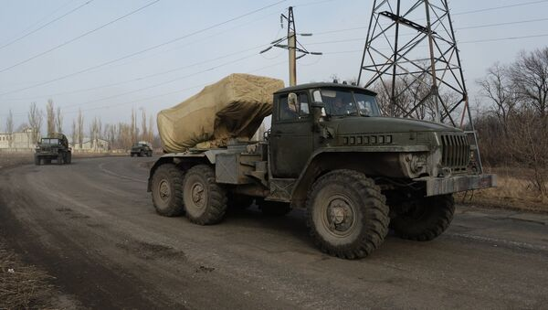 Sistemas Grad de las milicias de Donbás (Archivo) - Sputnik Mundo