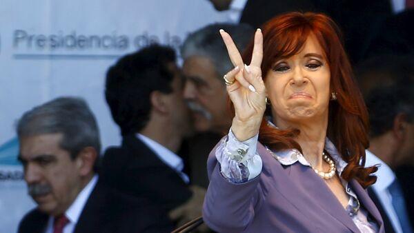 Cristina Fernández de Kirchner, presidenta saliente de Argentina - Sputnik Mundo