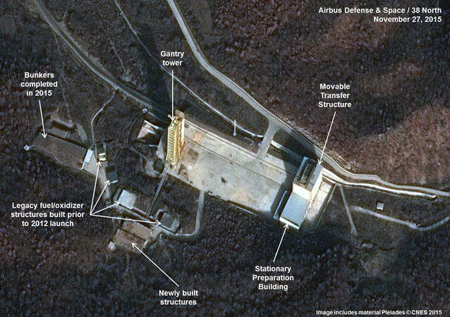 Base Sohae del Corea del Norte