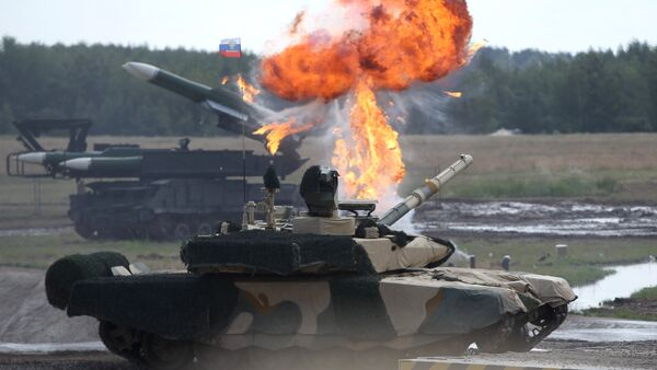Tanque ruso T-90 MS - Sputnik Mundo
