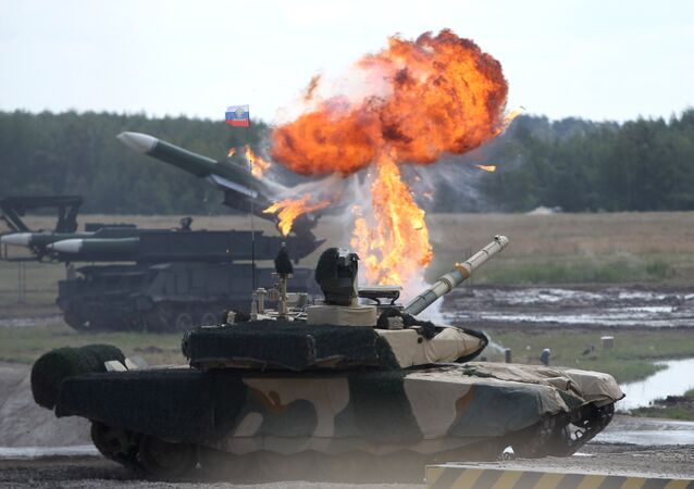 Tanque ruso T-90 MS