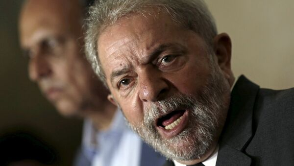 Luiz Inácio Lula da Silva, expresidente de Brasil (archivo) - Sputnik Mundo