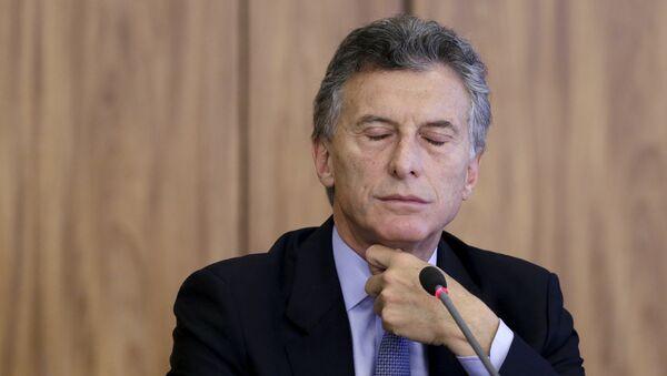 Argentina's President-elect Mauricio Macri - Sputnik Mundo