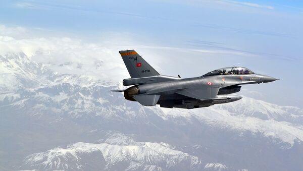 Caza de la Fuerza Aérea de Turquía - Sputnik Mundo