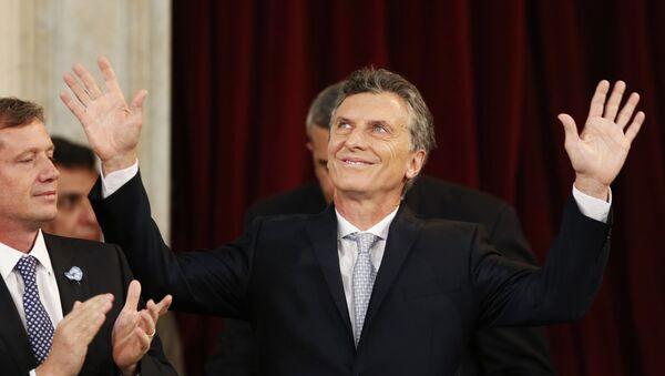 Mauricio Macri, nuevo presidente de Argentina - Sputnik Mundo