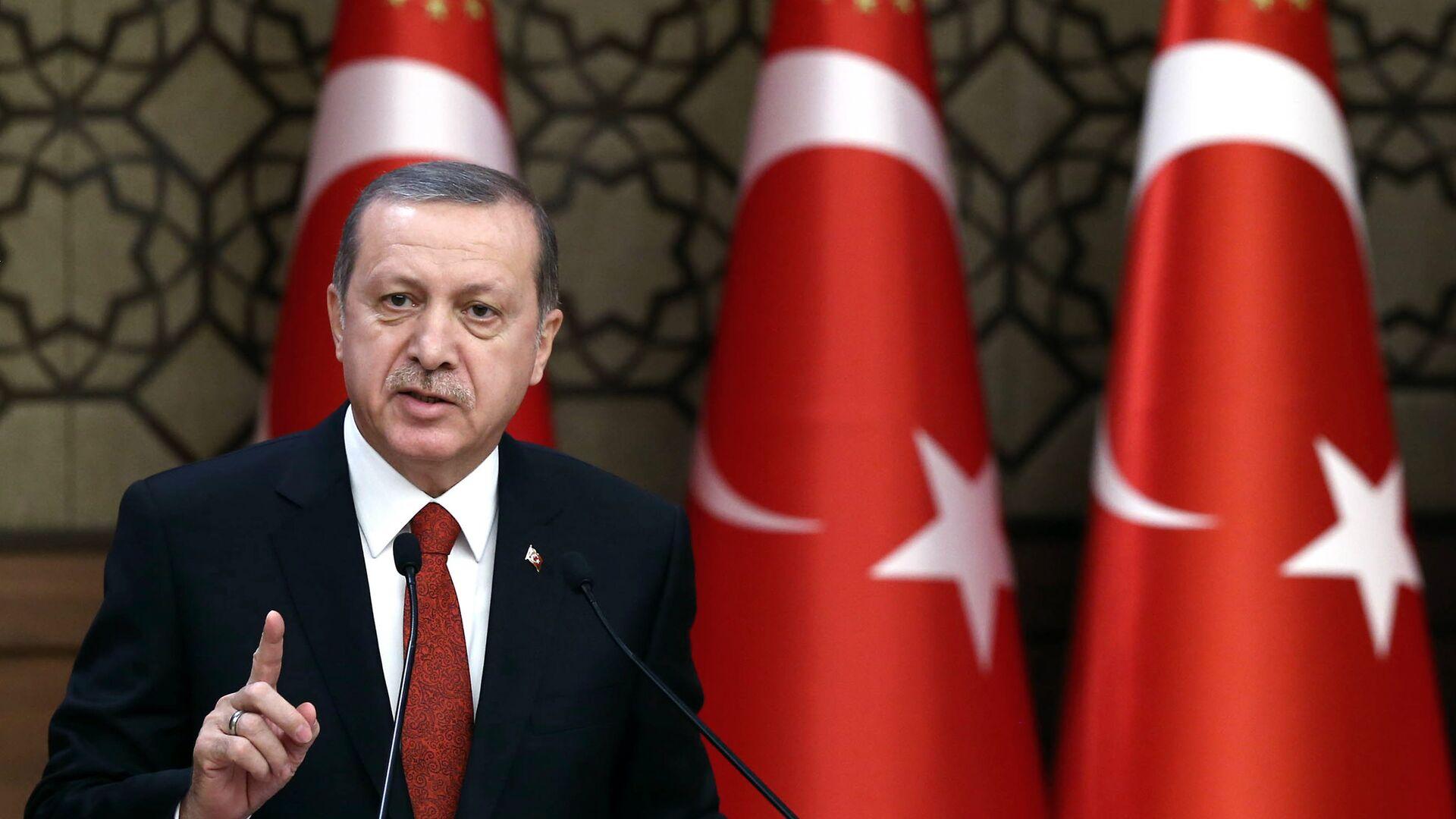 Turkey's President Recep Tayyip Erdogan - Sputnik Mundo, 1920, 17.06.2021