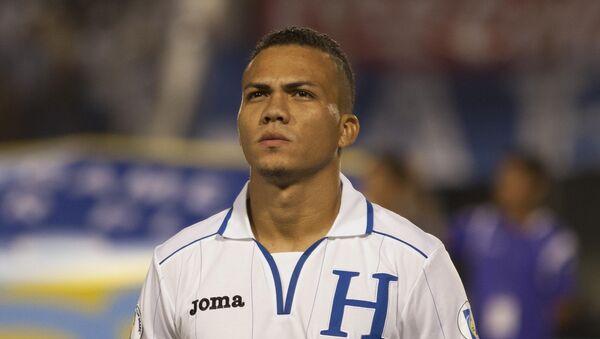 Arnold Peralta, defensa de la selección hondureña de fútbol - Sputnik Mundo