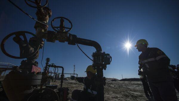 Yacimientos de petróleo en Rusia - Sputnik Mundo