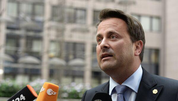 Xavier Bettel, primer ministro de Luxemburgo - Sputnik Mundo
