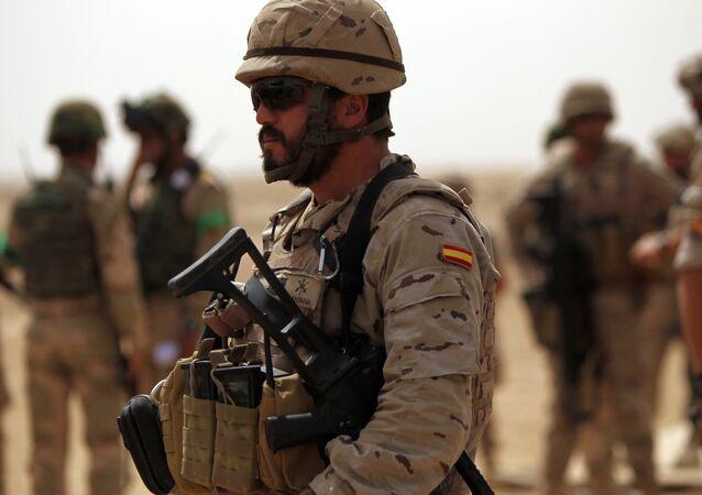 Un soldado español