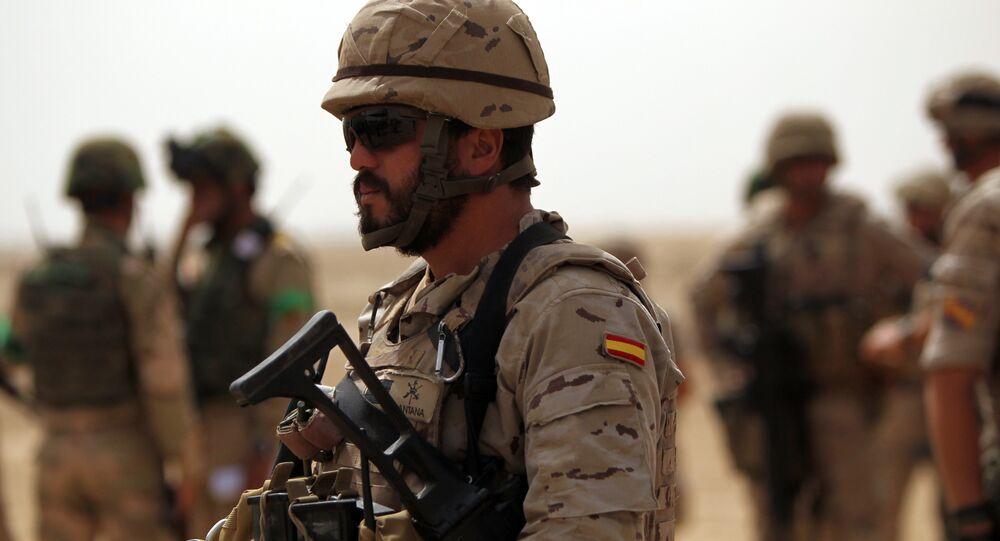 Un soldado español (archivo)