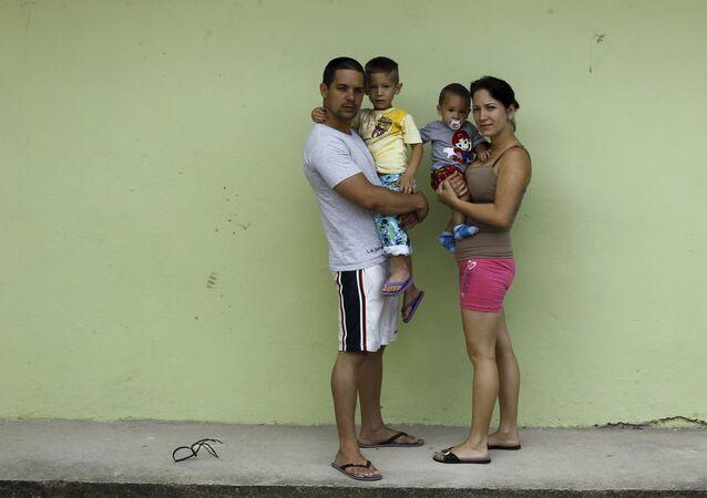 Migrantes cubanos (archivo)