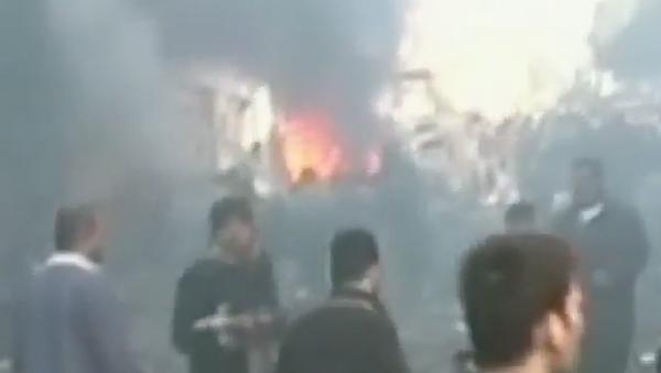 Atentado con coche bomba en Siria deja 22 muertos - Sputnik Mundo
