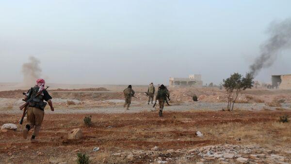 Milicianos sirios - Sputnik Mundo