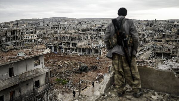Miliciano kurdo - Sputnik Mundo