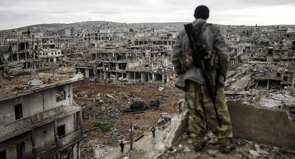 Ruinas en Siria (archivo)