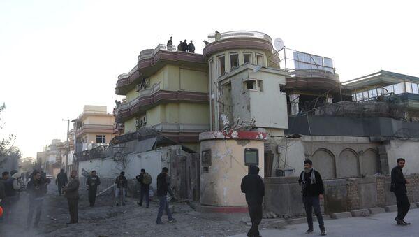 Las fuerzas de seguridad de Afganistán inspeccionan la embajada de España en Kabul. El sábado, 12 de diciembre del 2015 - Sputnik Mundo