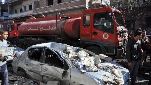 Atentado en Homs - Sputnik Mundo