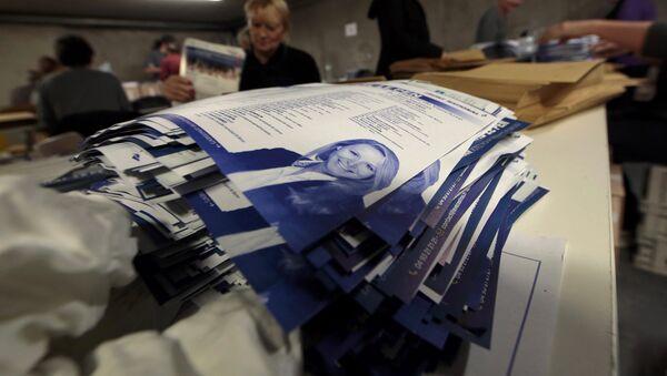 Senador del FN espera el triunfo de su partido en hasta cinco regiones francesas - Sputnik Mundo