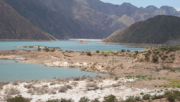Dique Potrerillos de la provincia de Mendoza - Sputnik Mundo