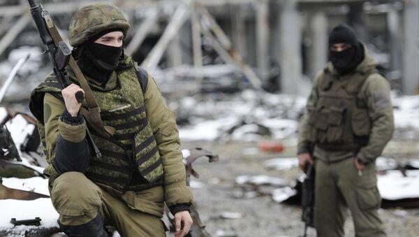 Milicianos del este de Ucrania - Sputnik Mundo