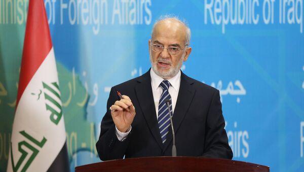 Ibrahim Al Jaafari, ministro del Ministerio de Exteriores iraquí - Sputnik Mundo