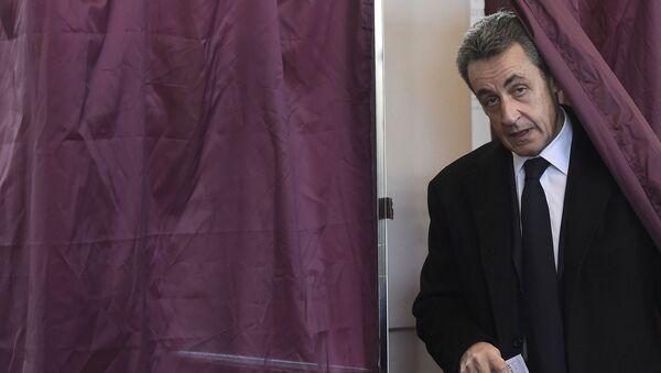 Nicolas Sarkozy, expresidente francés - Sputnik Mundo