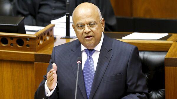 Pravin Gordhan, nuevo ministro de Finanzas de Sudáfrica - Sputnik Mundo