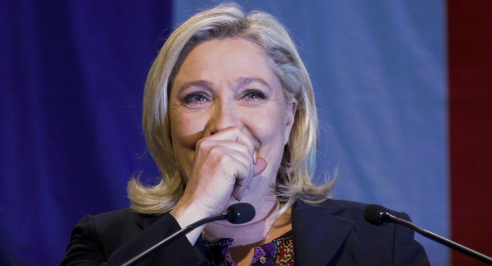 Marine Le Pen, líder del Frente Nacional