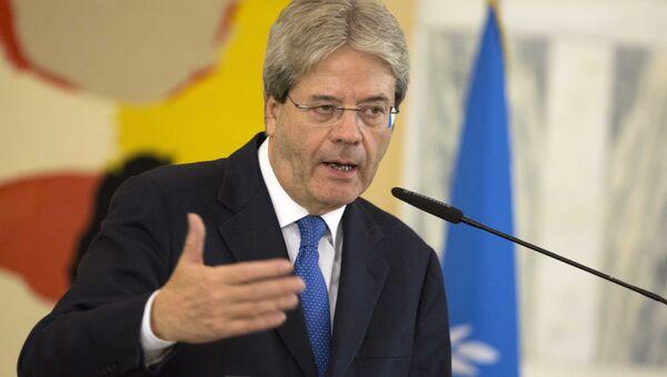 Paolo Gentiloni, ministro de Exteriores de Italia - Sputnik Mundo