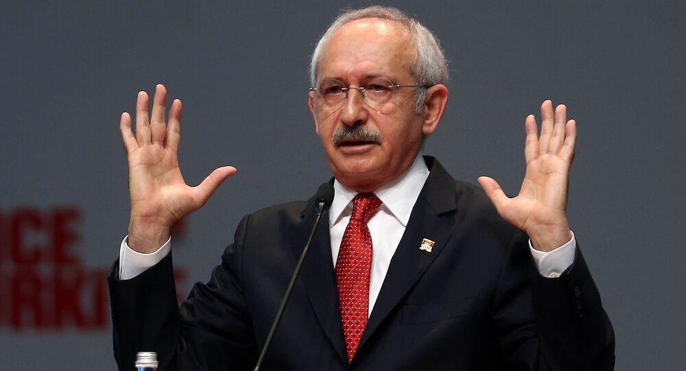 Kemal Kilicdaroglu, líder del partido opositor deTurquía, Partido Republicano del Pueblo