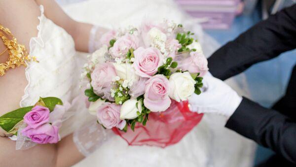 Flores de boda - Sputnik Mundo