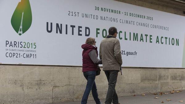 La cumbre de cambio climático COP 21 en París - Sputnik Mundo