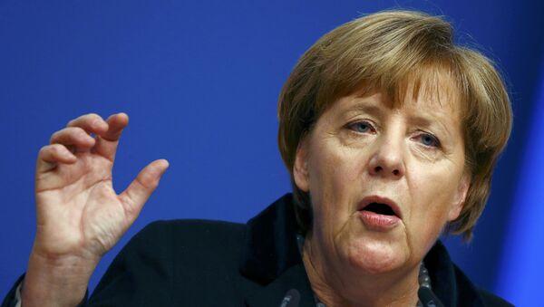 Angela Merkel, cancillera de Alemania - Sputnik Mundo
