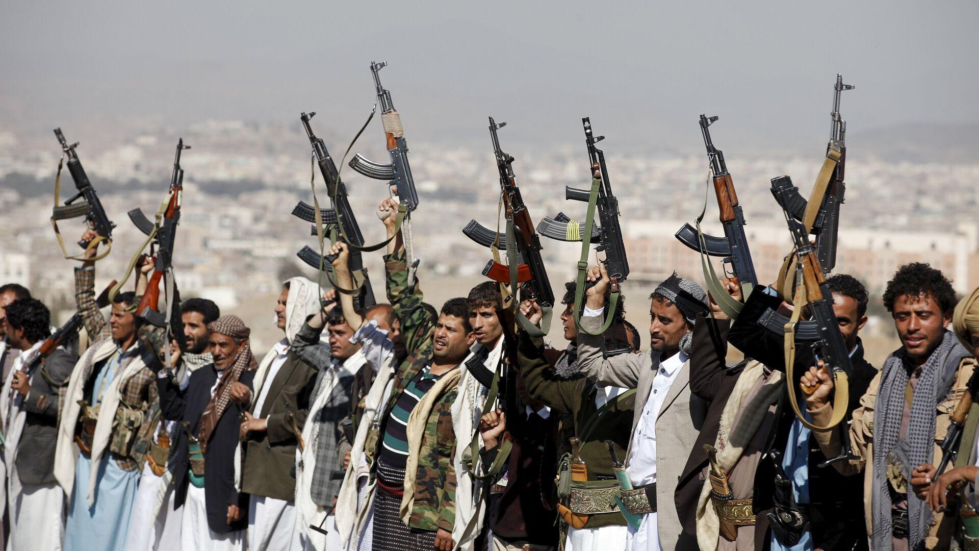 Hutíes en Yemen - Sputnik Mundo, 1920, 12.04.2021