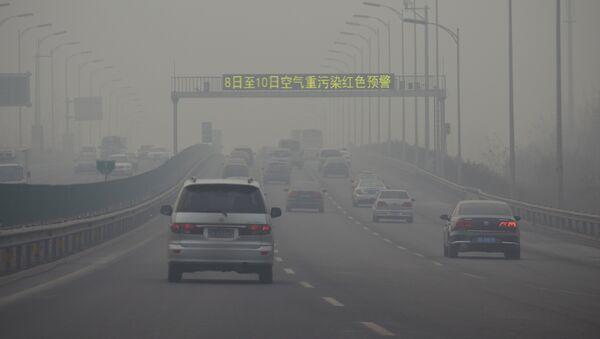 Contaminación de aire en China - Sputnik Mundo