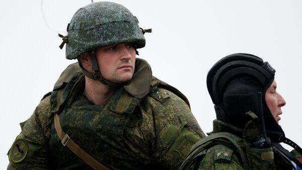 Infantes de marina del Ejército ruso - Sputnik Mundo