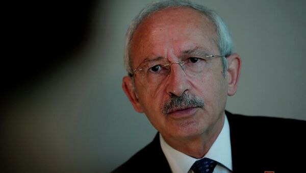 Kemal Kilicdaroglu, líder del principal partido de la oposición turca - Sputnik Mundo