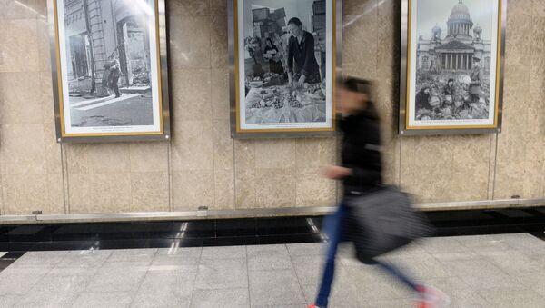 Exposición fotográfica en el metro de Moscú - Sputnik Mundo