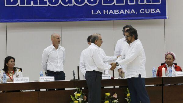 Negociaciones de paz entre las FARC y Colombia en La Habana, Cuba (Archivo) - Sputnik Mundo
