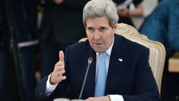 John Kerry, secretario de Estado de EEUU - Sputnik Mundo