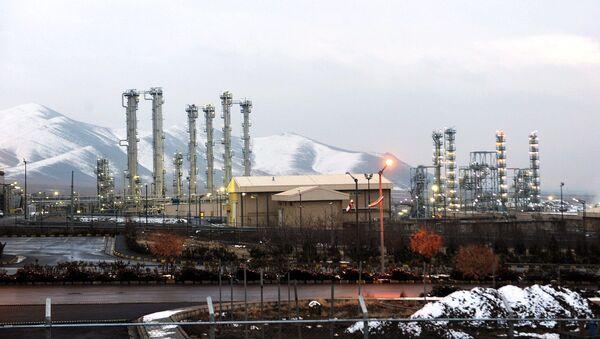 Reactor del agua pesada en Arak - Sputnik Mundo