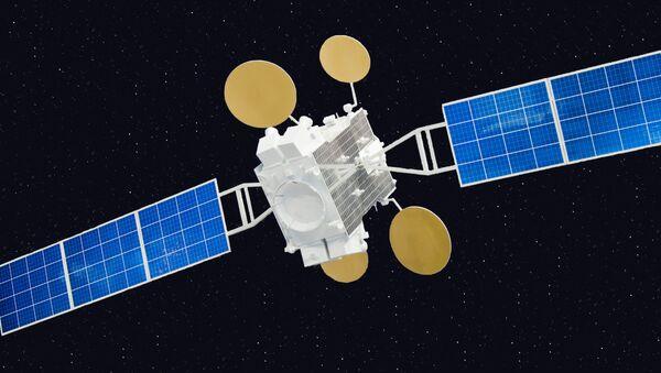 Modelo de satélite de comunicaciones israelí Amos-5 - Sputnik Mundo